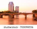 skyline grand rapids  mi  | Shutterstock . vector #703098556