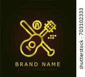 activities golden metallic logo