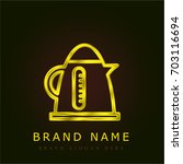 boiler golden metallic logo