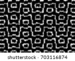 grunge halftone black and white.... | Shutterstock . vector #703116874