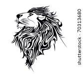 lion vector | Shutterstock .eps vector #70313680
