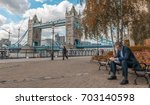 london   september 27  2012 ... | Shutterstock . vector #703140598