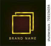 multi tab golden metallic logo