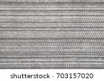 fabric back and white striped... | Shutterstock . vector #703157020