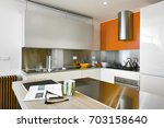 interiors shots of a modern... | Shutterstock . vector #703158640