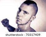 strong man   Shutterstock . vector #70317409