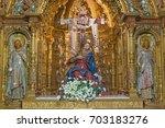 salamanca  spain  april   17 ... | Shutterstock . vector #703183276