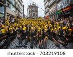 porto  portugal   may 9  2017 ... | Shutterstock . vector #703219108