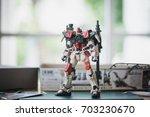 bangkok  thailand   august 26 ... | Shutterstock . vector #703230670