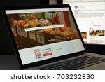 milan  italy   august 10  2017  ... | Shutterstock . vector #703232830
