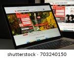 milan  italy   august 10  2017  ... | Shutterstock . vector #703240150