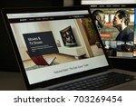 milan  italy   august 10  2017  ... | Shutterstock . vector #703269454