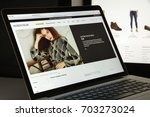 milan  italy   august 10  2017  ... | Shutterstock . vector #703273024