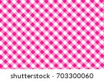 Deep Pink Gingham Seamless...