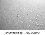 water drops an white background | Shutterstock . vector #70330090