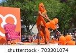 montreal quebec canada 08 20 17 ... | Shutterstock . vector #703301074