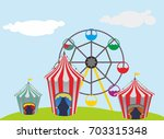 circus | Shutterstock .eps vector #703315348