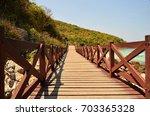 koh lan   pattaya   thailand    ... | Shutterstock . vector #703365328