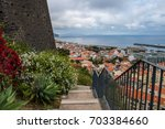 Cityscape In Funchal From Fort...