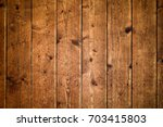 rustic wood planks background ... | Shutterstock . vector #703415803