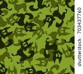 seamless pattern background... | Shutterstock .eps vector #703437760