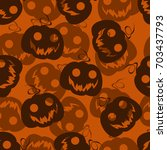 seamless pattern background... | Shutterstock .eps vector #703437793