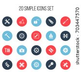 set of 20 editable toolkit...