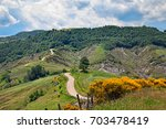 Apennine Mountains In Forli...