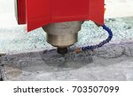 high technology cnc machining... | Shutterstock . vector #703507099