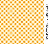 autumn gingham seamless pattern.... | Shutterstock . vector #703534630