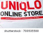 bangkok  thailand   aug  27 ... | Shutterstock . vector #703535500