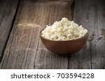Homemade Cottage Cheese In A...
