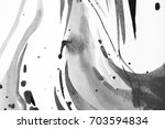 black and white abstract... | Shutterstock . vector #703594834