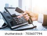 communication support  call...   Shutterstock . vector #703607794