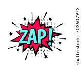 zap  | Shutterstock .eps vector #703607923