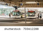 the hague  den haag  ...   Shutterstock . vector #703612288
