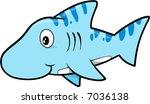 shark vector illustration | Shutterstock .eps vector #7036138