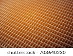 honeycomb radiator | Shutterstock . vector #703640230