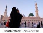 medina  saudi arabia   1...   Shutterstock . vector #703670740