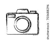 camera icon image | Shutterstock .eps vector #703688296