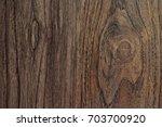 Wood Texture. Surface Of Teak...