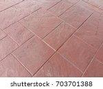 sidewalk floor pattern... | Shutterstock . vector #703701388