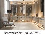 3d rendering minimal... | Shutterstock . vector #703701940