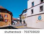 Small Street At Village Des...