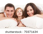 happy family  mother  father... | Shutterstock . vector #70371634