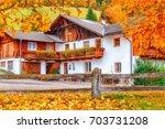 Fall Season Scenery In Alpine...