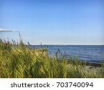a clear blue sky over great...   Shutterstock . vector #703740094