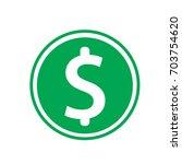 money vector icon | Shutterstock .eps vector #703754620