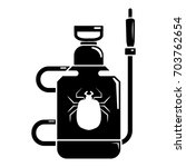 pest control poison icon.... | Shutterstock .eps vector #703762654