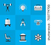 vector illustration set of... | Shutterstock .eps vector #703779700